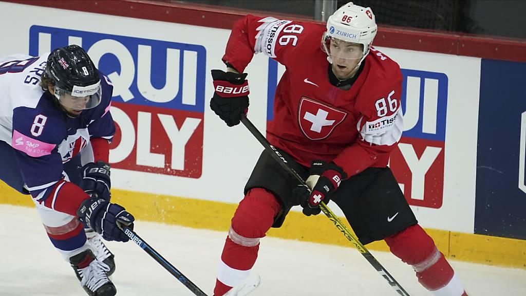 Janis Moser bester Schweizer NHL-Draft seit Nico Hischier