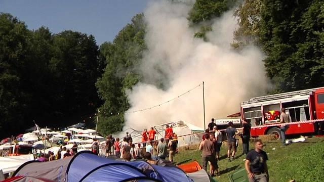 Nach Brand am OASG: Ist das Gurtenfestival für solche Notfälle gerüstet?