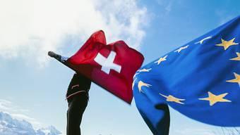 Die Verhandlungen zwischen der Schweiz und der EU über ein Abkommen zur künftigen Beziehung sind ins Stocken geraten. (Symbolbild)