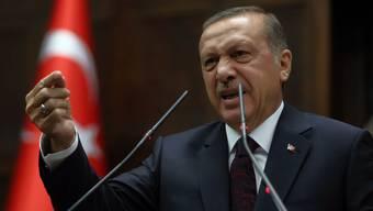Der türkische Regierungschef Recep Tayyip Erdogan