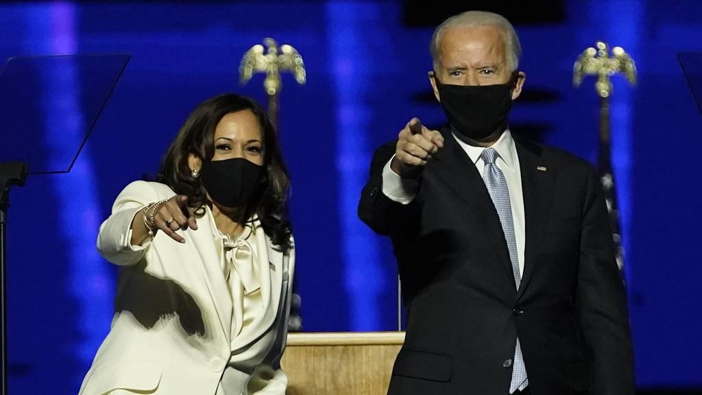 Joe Biden gewinnt US-Wahl, Kamala Harris wird Vizepräsidentin