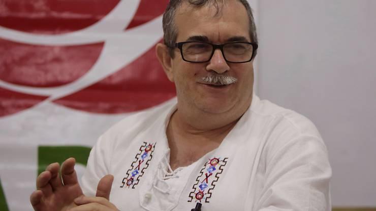 Kolumbiens Sicherheitskräfte haben offenbar einen Anschlag auf den Farc-Parteichef und einstigen Untergrundkämpfer Rodrigo Londoño verhindert. (Archivbild)
