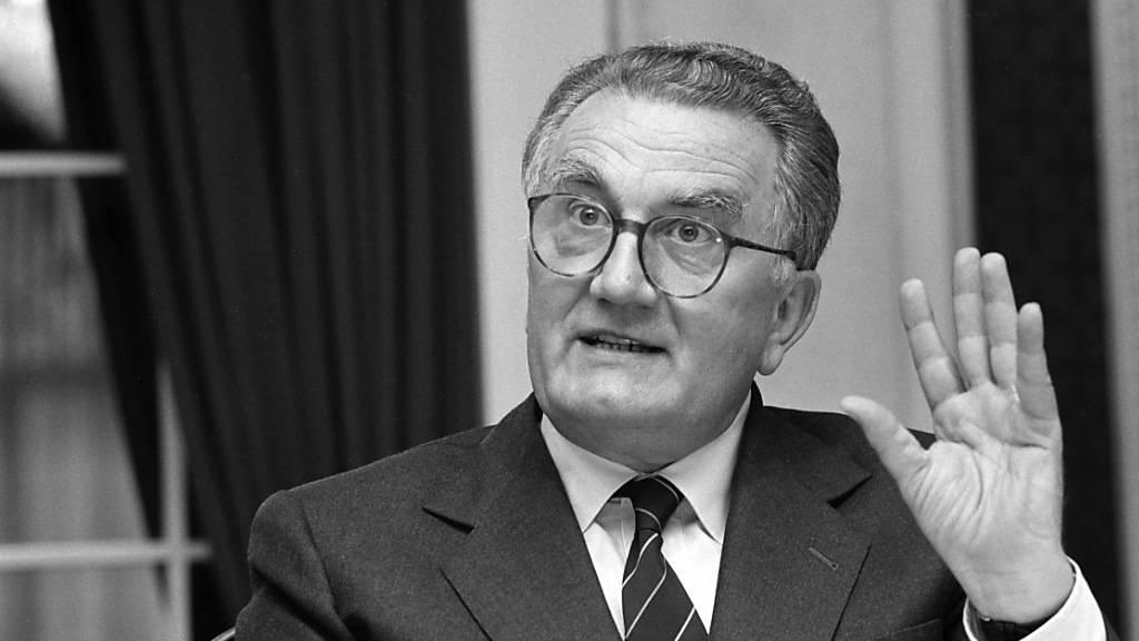 Ehemaliger Zurich- und Roche-Chef Fritz Gerber ist gestorben