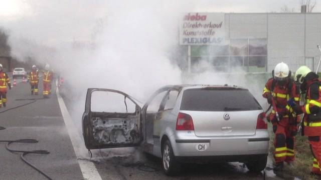 Autobrand Hunzenschwil