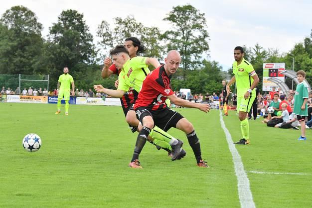 Der FC Münsingen gewinnt gegen den FC Solothurn mit 3:0