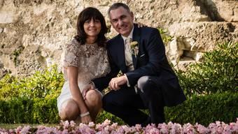 Regierungsrat Alex Hürzeler hat seine Partnerin Ursula Kühne geheiratet.