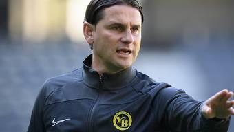 YBs Trainer Gerardo Seoane ist vor dem wichtigen Match gegen Tirana ruhig und besonnen