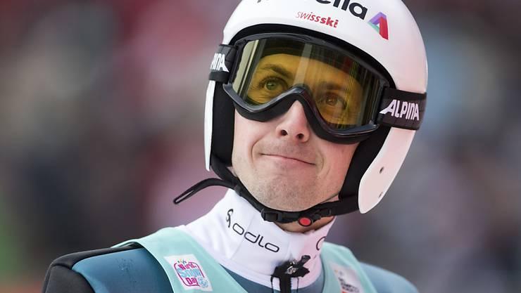 Simon Ammann  hofft, dass er an der Vierschanzentournee eine Überraschung schaffen kann