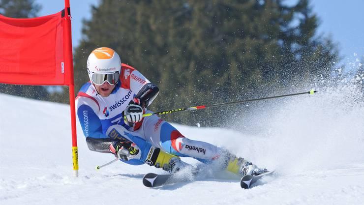 Simon Heinzmann investiert viel in seine Karriere als Skirennfahrer. Ihn fasziniert «dieses Gefühl, über den Schnee zu gleiten, die Kräfte zu spüren, dieses Zusammenspiel von Speed und Dynamik». Martin Broder