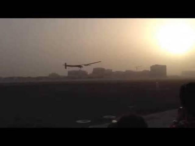 In Abu Dhabi startete die Solar Impulse 2 vor über einem Jahr ihre Reise um die Welt