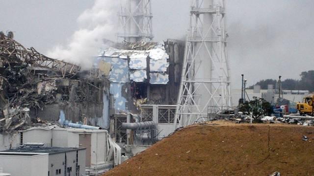 Von hier strahlt die Gefahr aus: Atomkraftwerk Fukushima