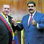 Der türkische Präsiden Erdogan (links) mit dem venezolanischen Präsidenten Nicolas Maduro.