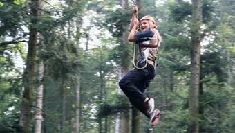 Der Job im Waldseilgarten ist heiss begehrt
