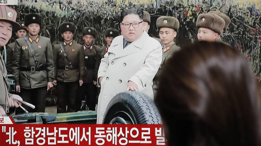 Südkorea meldete weitere nordkoreanische Waffentests