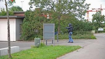 Sondereinheit stürmt Haus in Regensdorf