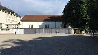 So könnte der neue Pavillon von Architekt Guido Kummer aussehen.