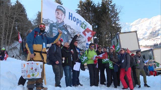 Grosse Freude über Top-10-Plätze an Lauberhorn-Abfahrt