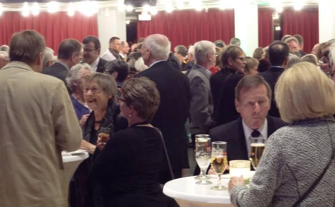 Reger Gedankenaustausch der Bevölkerung am Rheinfelder Neujahrsempfang