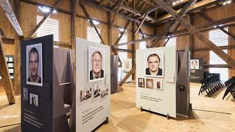 Eine Foto-Ausstellung über ehemalige Verdingkinder. Diese sollen keine Kürzung ihrer Ergänzungsleistungen hinnehmen müssen, wenn sie einen Solidaritätsbeitrag erhalten. (Archiv)
