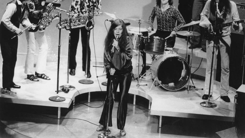 Orkanstimme im «Club 27» - Vor 50 Jahren starb Janis Joplin