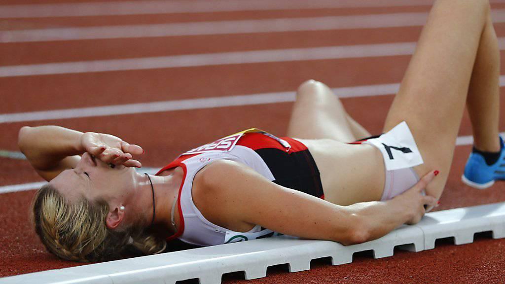 Linda Züblin hat nach einer erneuten Knieverletzung genug
