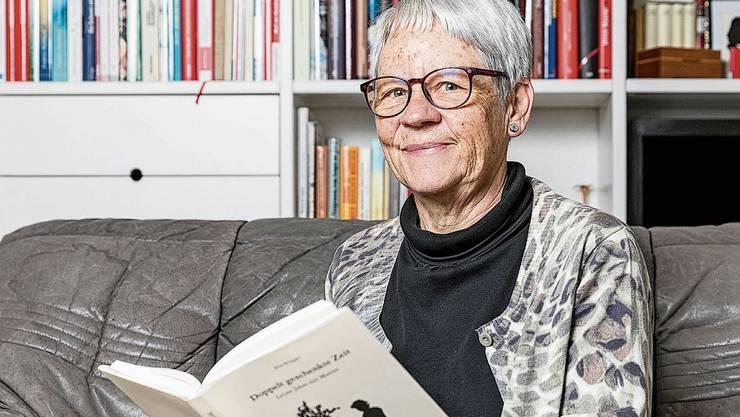Rita Brügger ist glücklich über die Jahre mit ihrer Mutter – und über ihr Buch darüber.