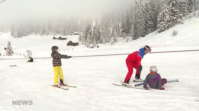 Immer mehr einheimische Kinder können nicht Skifahren