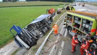 Verkehrsunfall im Zürcher Weinland bei Trüllikon