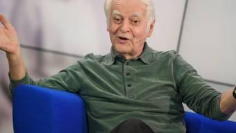 Adolf Muschg, hier an der Frankfurter Buchmesse 2018, feiert am 13. Mai 2019 den 85. Geburtstag. (Archiv)