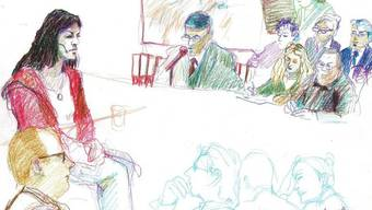 Szene aus dem Prozess gegen die Mutter (2. v. l.) von 2010 (Archiv)