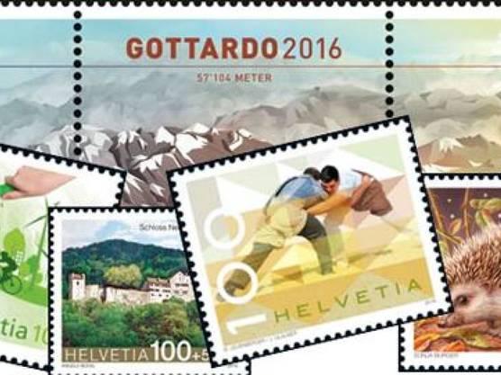 ... sowie spezielle Briefmarken gewidmet...