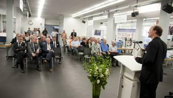 Eröffnung der IBLive Berufsmesse in der ETA Lehrwerkstatt