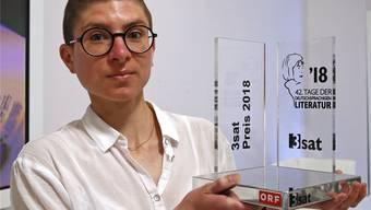 Anna Stern  (27) aus Zürich: Erst polarisierte ihr Text die Jury, dann hat sie doch den vierten Preis gewonnen.