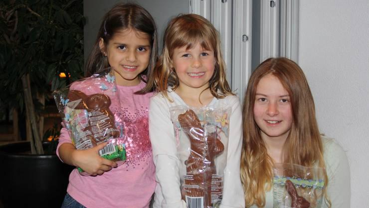 Emily, Miriam, Daniela
