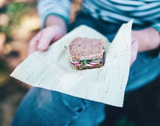 Das Sandwich im schönen Mantel.