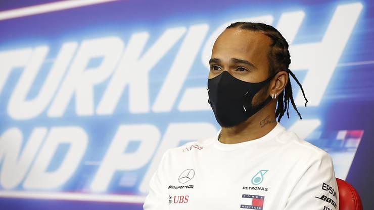 Den 7. WM-Titel in der Formel 1 im Fokus: Lewis Hamilton