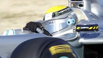 Tagesbestzeit für Nico Rosberg im Mercedes