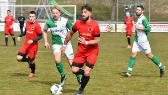 Dzevahir Rrahmani traf gegen Härkingen doppelt für den FC Iliria.