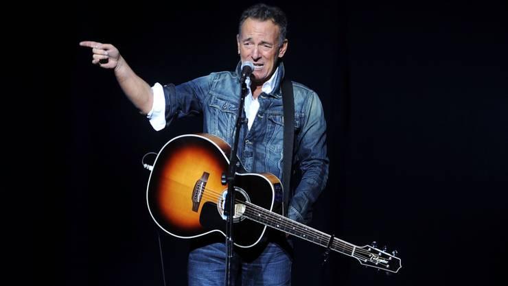 Gute Nachrichten für Bruce-Springsteen-Fans: Der US-Musiker veröffentlicht am 14. Juni ein neues Album. (Archivbild)