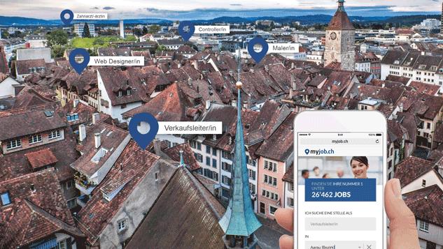 myjob.ch ist die grösste regionale Stellenplattform in der Nordwestschweiz.