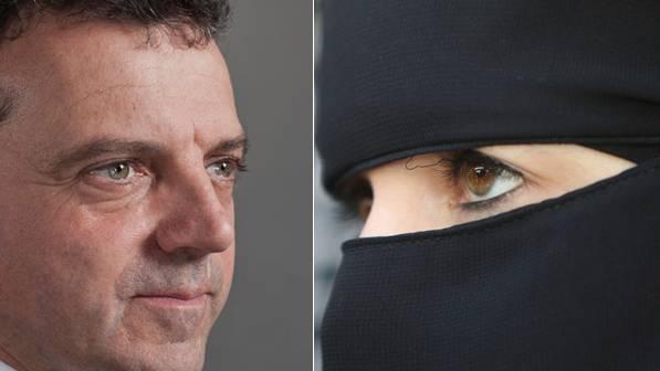 Die Initiative des Egerkinger Komitees um SVP-Nationalrat Walter Wobmann verlangt, dass niemand sein Gesicht im öffentlichen Raum verhüllen oder verbergen darf.