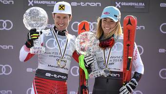 Überstrahlen die Konkurrenz: Marcel Hirscher und Mikaela Shiffrin