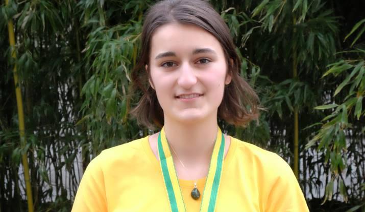 ... Michelle Knecht die diesjährige Biologie-Olympiade.