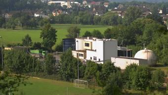 ARA Unterau soll 2015 ausser Betrieb gehen; Pumpstation und Auffangbecken bleiben. Wal/Archiv