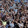 Bei den Fans von Manchester City darf nach dem Meistertitel und dem Ligacup auch der FA-Cupsieg gefeiert werden