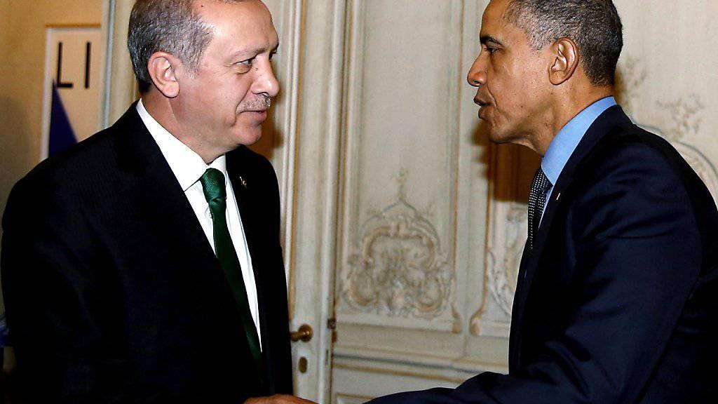 «Warmes Verhältnis»: Obama spricht mit Erdogan über die vergangenen acht Jahre. (Archivbild)