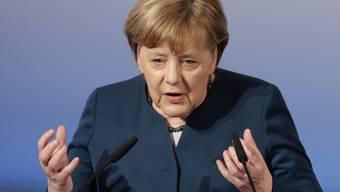Angela Merkel am Samstag bei ihrer Rede an der Münchner Sicherheitskonferenz.