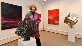 Brigitte Itel feiert mit Werken von Annette Jetter und Romeo Gorza Jubiläum.