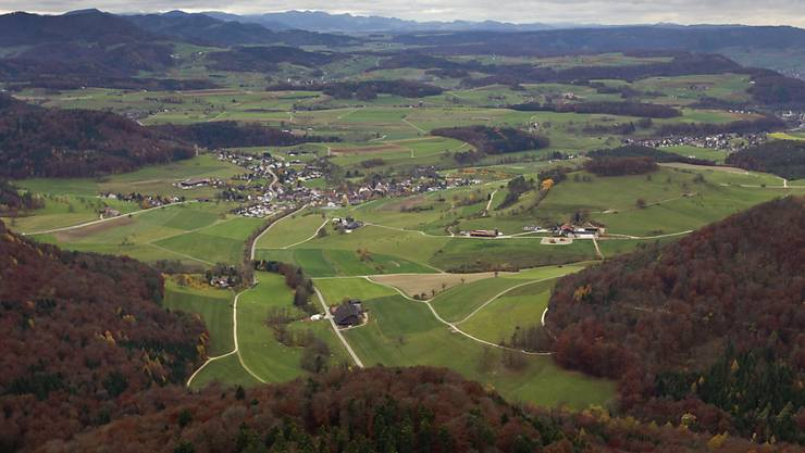 Im aargauischen Fricktal wollen sich vier Gemeinden zusammenschliessen.