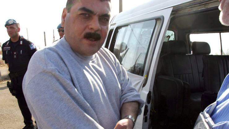 Kuntar nach seiner Freilassung aus israelischer Haft im Jahr 2008 (Archiv).